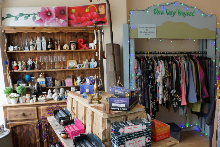 The Secondhand Shop Main Display
